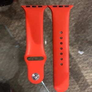 Accessories - Orange Apple Watch Band